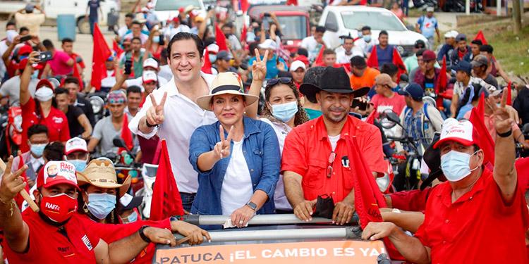 La candidata de Libre, Xiomara Castro, aseguró en Patuca, que trabajará para que los campesinos y ganaderos del país tengan las condiciones ideales.