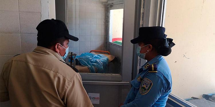 El infante fue trasladado de emergencia al Hospital de Puerto Cortés, pero lamentablemente ya no contaba con signos vitales.