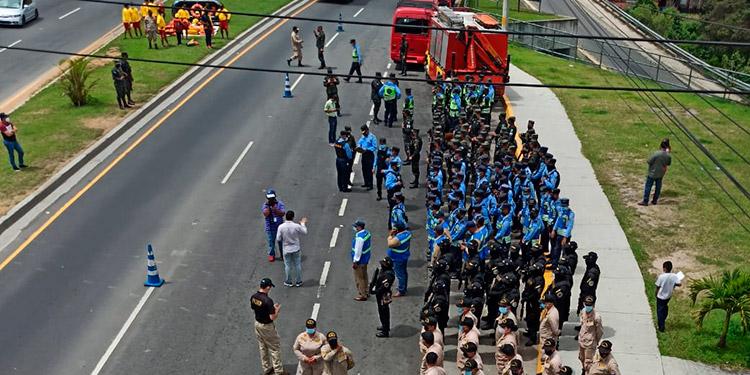 """Los representantes de Conapremm se mostraron listos para afrontar la movilización masiva de la """"Semana Morazánica 2021""""."""