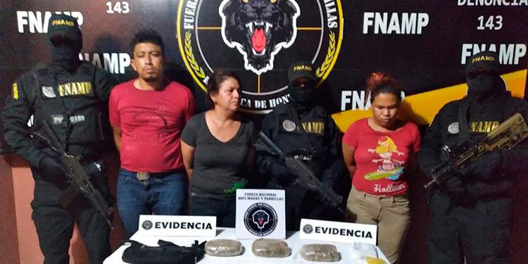 Los miembros de la MS-13 fueron detenidos en la ciudad de San Lorenzo, Valle, por parte de efectivos de la FNAMP.