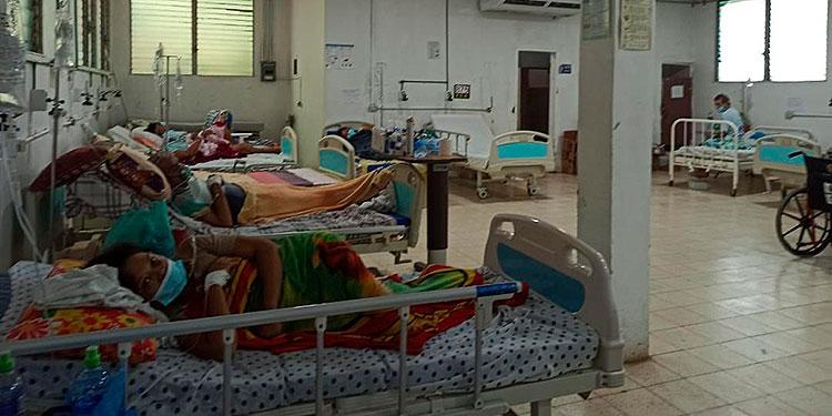Solo 15 pacientes hay hospitalizados por COVID-19 en el Hospital General del Sur, de los cuales cinco están en la UCI.