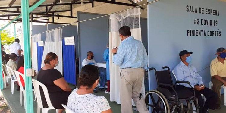 Ante la baja de casos de COVID-19 en Cortés, ahora hay más cupos en los hospitales, para pacientes contagiados.