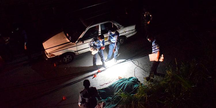 """En el sector conocido popularmente como """"La Cruz"""", del barrio El Manchén, de Tegucigalpa, pandilleros mataron a un hombre."""