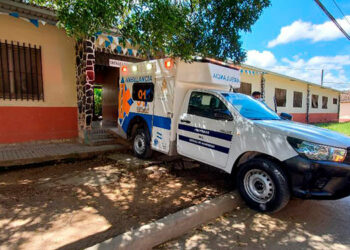 """Ayer lunes, el triaje de Danlí, El Paraíso, inició con dos traslados de pacientes graves por COVID-19 al Hospital """"Gabriela Alvarado""""."""