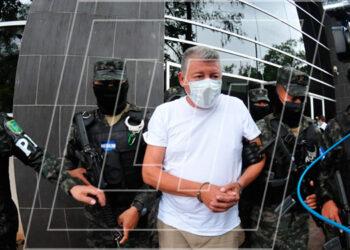 El alcalde de Talanga, Roosevelt Avilés López, fue evaluado en el Centro Legal de Ciencias Forenses y, posteriormente, lo trasladaron de nuevo a las celdas del Primer Batallón, anexo a la Penitenciaría Nacional de Támara.