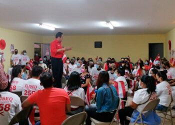 Eliseo Castro excitó a la juventud liberal a salir a votar.
