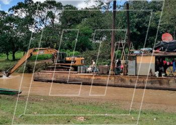 Las FF. AA. lograron localizar la maquinaria pesada y capturaron a los implicados en la movilización de ese equipo quienes serán puestos a disposición de las autoridades.