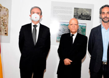 Guillermo Kirkpatrick de la Vega, Enrique Barriga, José Carlos Balaguer.