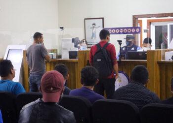 Los compatriotas fueron recibidos en Corinto por autoridades de instituciones gubernamentales y organizaciones humanitarias internacionales.
