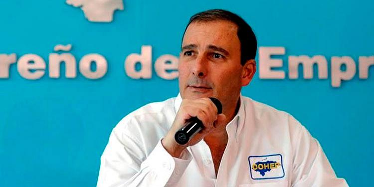 """Juan Carlos Sikaffy: """"Nos hacemos presentes tal y como sucedió con los huracanes Eta y Iota""""."""
