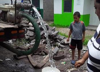 La escasez de agua es un grave problema que afecta a los habitantes de Juticalpa, Olancho.