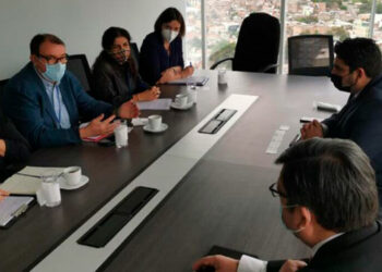 La MOE informó en sus redes sociales que sostuvo encuentros con organismos ligados al proceso electoral.