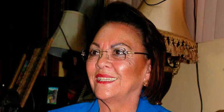 Alba Nora Gúnera de Melgar Castro nació en 1942 en Choluteca.