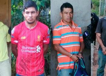 Fueron capturados José Manuel Portillo (tío), sus hijos José Otilio y José Ovidio Portillo (primos de la víctima), además de una cuarta persona de nombre José Omar Portillo.