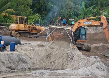 Con el novedoso proyecto de bordos en el río Tegucigalpita se protegerá a más de 200 familias que viven en el sector.