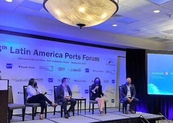 El Memorando de Entendimiento fue firmado durante el reciente Foro Anual de Puertos de América Latina en Fort Lauderdale.
