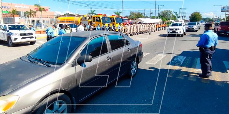 La Policía Nacional reiteró su compromiso de servir y proteger, garantizando la seguridad de la población y sus bienes.