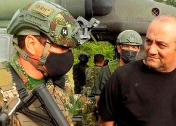 """Dairo Antonio Úsuga David, alias """"Otoniel"""", fue detenido el sábado en una operación conjunta de la Policía y las Fuerzas Armadas, bautizada """"Operación Osiris""""."""