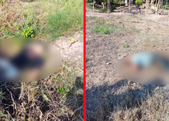 Ambos cuerpos quedaron tirados y hasta el momento se desconoce su identidad y las razones por las cuales les quitaron la vida.
