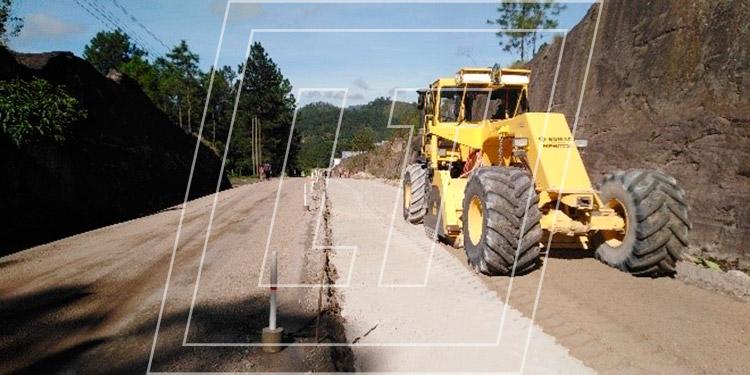 La infraestructura vial ha resultado afectada por las fuertes lluvias en diferentes regiones de Honduras