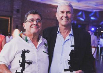 José Adán Cuevas, del Hotel San Lucas; y el empresario ambientalista, Lloyd Davidson, ganaron los Premios Copán Bicentenario 2021.