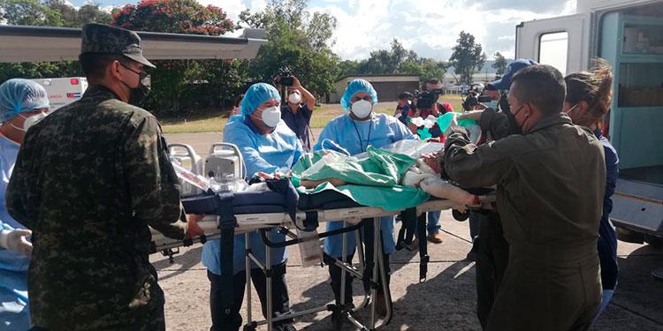 Al arribar a la capital los niños fueron llevados a la Fundación por la Vida del Niño Quemado (Fundaniquem), para la asistencia médica necesaria.