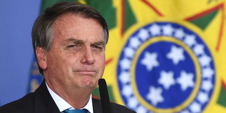 Jair Bolsonaro.  (LASSERFOTO AFP)