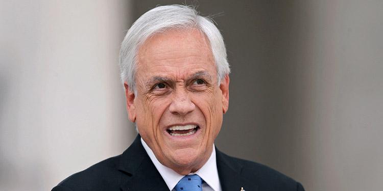 Sebastián Piñera. (LASSERFOTO AFP)