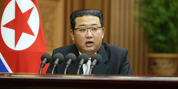 Kim Jong Un. (LASSERFOTO  AP)