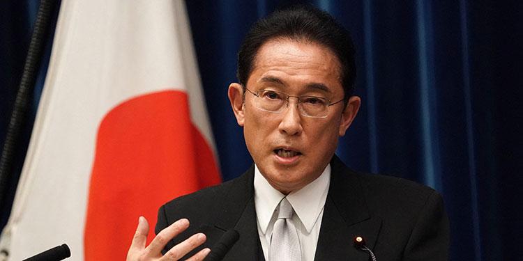 Fumio Kishida. (LASSERFOTO AFP)