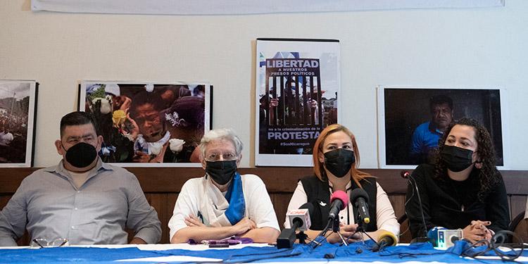 Un grupo de opositores nicaragüenses en el exilio y en la clandestinidad pidieron a la Unión Europea, organismos internacionales y gobiernos declarar ilegítimas las elecciones presidenciales de Nicaragua. (LASSERFOTO AFP)