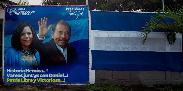 El Consejo de la UE anunció la renovación, por un período de un año, del régimen de sanciones contra 14 funcionarios de Nicaragua.  (LASSERFOTO EFE)