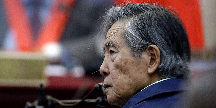 Las autoridades peruanas anunciaron que el expresidente Alberto Fujimori abandonará la cárcel privilegiada para ser trasladado a una prisión común. (LASSERFOTO AP)