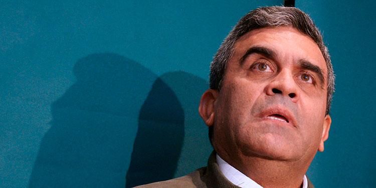 Raúl Baduel.  (LASSERFOTO AFP)