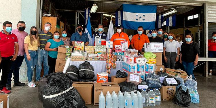 La ayuda humanitaria es el resultado de las donaciones de empleados de DIGEPESCA, del despacho ministerial, administración central y empleados del SENASA y Agronegocios.