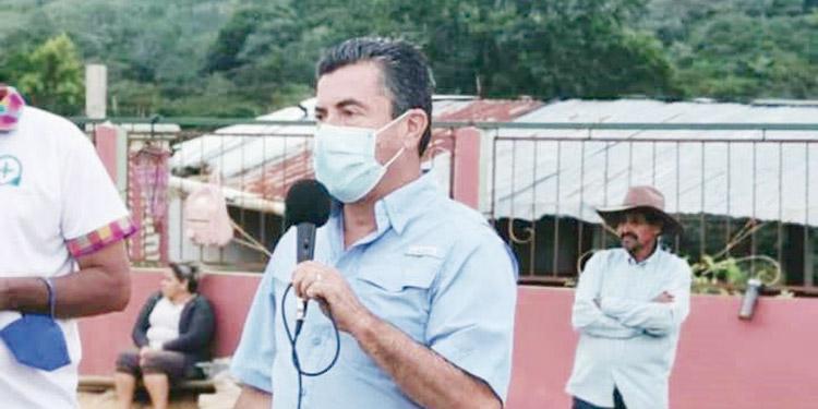 Jorge Alfredo Valeriano Pinto, ha buscado ser candidato independiente a la alcaldía municipal de Siguatepeque.