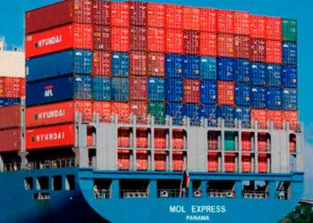 Un 8% de los contenedores en todo el mundo se encuentran parados y no están llegando a los puertos.