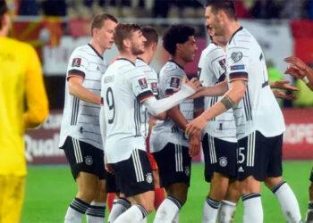 Alemania ya se clasificó a Qatar 2022.