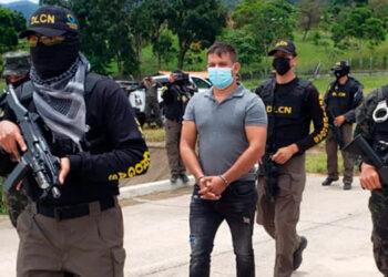 """Óscar Fernando Santos Tobar (35) alias """"Teto Santos"""", cumplirá el arresto preventivo en el Primer Batallón de Infantería, hasta el día de su traslado a los EE. UU."""