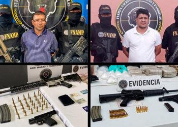 Los agentes de FNAMP andaban tras la pista de dos de los cerebros criminales de la pandilla 18 y de la MS-13.