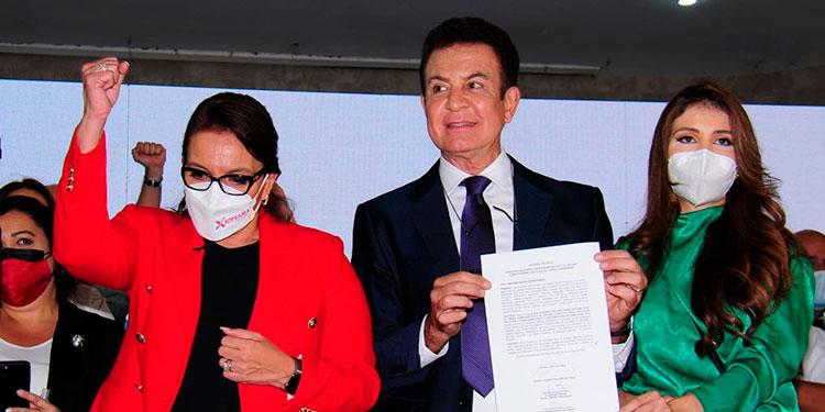 Nasralla justificó que han firmado un convenio en el cual Libre que tiene presencia en las 18 mil 396 mesas.