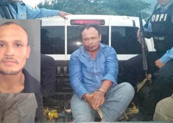 """Funcionarios de la Policía Nacional detuvieron al hondureño Alex Miguel Sandres Barahona (foto inserta), sindicado de ser miembro del cartel de """"Los Zetas"""", en la aldea El Paraisito, de Danlí."""