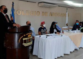 El presidente del CAH, Fredis Cerrato dio a conocer ayer la postura de esa organización gremial en torno a las reformas.