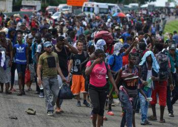 La organización Human Rights Watch denuncia que México ha expulsado a unos 54,000 extranjeros en lo que va de 2021.