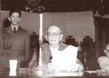 1 Don Julio Lozano Díaz el 6 de Diciembre de 1954 declarándose Jefe de Estado.