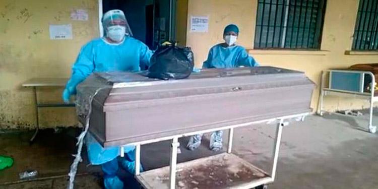 Un total de 57 muertos por COVID-19 en el mes de septiembre reportaron autoridades hospitalarias.