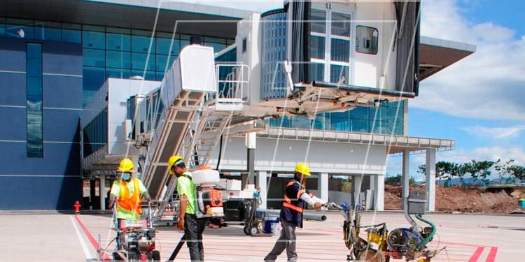 El próximo 15 de octubre se hará la presentación oficial del Aeropuerto Internacional de Palmerola.