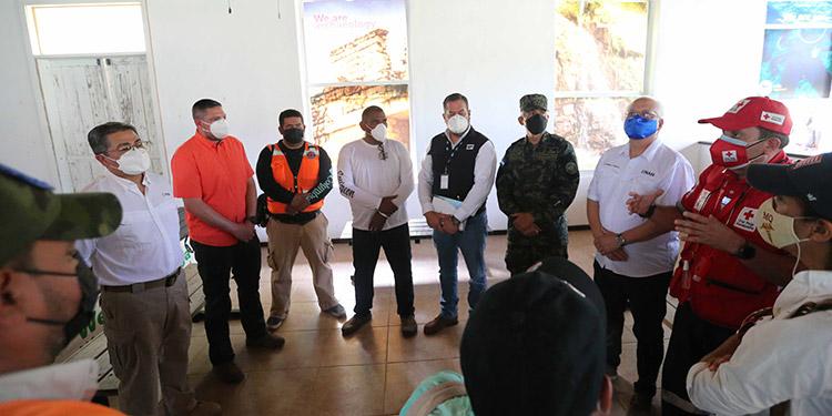 Un equipo interinstitucional está encargado de la reconstrucción de Guanaja.