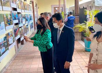 La exposición se presenta en la Biblioteca Nacional, ubicada en el centro de Tegucigalpa, y estará abierta al público desde el viernes 15 al 21 de octubre.