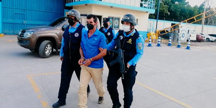 El individuo se encontraba prófugo desde que ocurrió el crimen, en 2018, y para evadir a la justicia se había ido a refugiar al departamento de Intibucá.